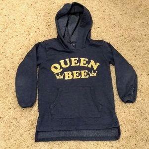 Girls queen bee sweatshirt size 5